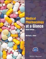 Medical Pharmacology at a Glance PDF