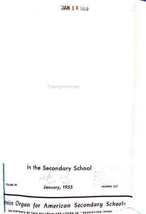 The Bulletin of the National Association of Secondary School Principals PDF