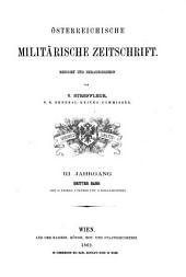 Österreichische militärische Zeitschrift: Band 3