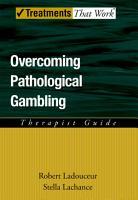 Overcoming Pathological Gambling PDF