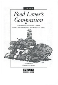 The New Food Lover s Companion