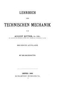 Lehrbuch der technischen Mechanik PDF