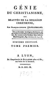 Génie du christianisme, ou Beautés de la religion chrétienne: Volume8