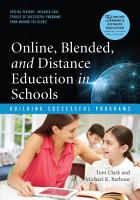 Online  Blended and Distance Education in Schools PDF