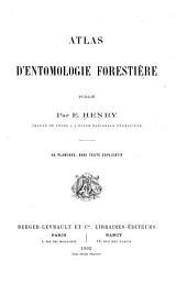 Atlas d'entomologie forestière