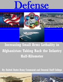 Increasing Small Arms Lethality in Afghanistan PDF