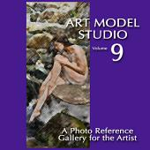 Art Model Studio, Vol. 9: A Photo Reference Gallery for the Artist