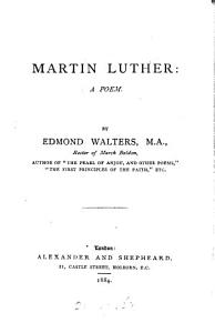 Martin Luther  a Poem PDF