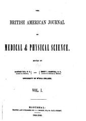 British American Medical and Physical Journal: Volume 1