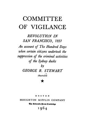 Committee of Vigilance