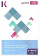 BA4 FUNDAMENTALS OF ETHICS  CORPORATE GOVERNANCE AND BUSINESS LAW   STUDY TEXT PDF