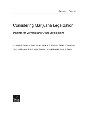 Considering Marijuana Legalization