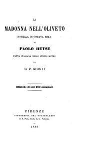La madonna nell'oliveto