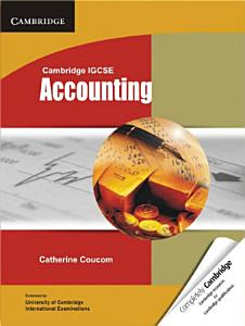 Cambridge IGCSE Accounting Student s Book PDF