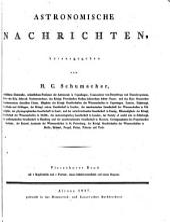 Astronomische Nachrichten: Volumes 14-16
