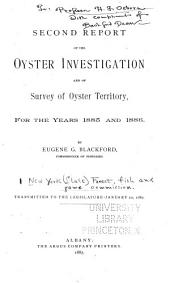 Report of the Commissioner of Fisheries ... in Charge of the Oyster Investigation: Volume 2