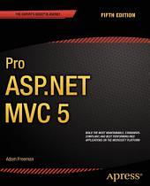 Pro ASP.NET MVC 5: Edition 5