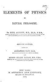 Elements of Physics, Or, Natural Philosophy