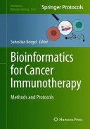 Bioinformatics for Cancer Immunotherapy