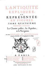 L'antiquité expliquée et représentée en figures: Volume1,Parties1à2