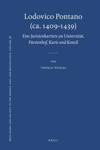 Lodovico Pontano  ca  1409 1439  PDF
