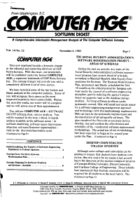 Computer Age  Software Digest PDF
