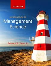 Introduction to Management Science: Edition 12