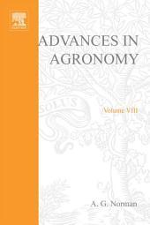 Advances in Agronomy: Volume 8