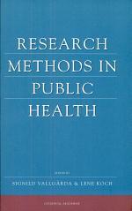 Research Methods in Public Health