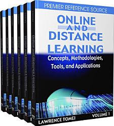 Online And Distance Learning Concepts Methodologies Tools And Applications Book PDF