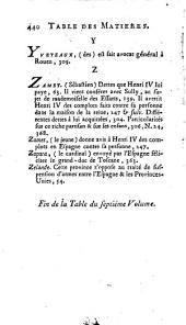 Mémoires de Maximilien de Béthune, duc de Sully, principal ministre de Henri-le-Grand: Volume7