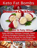 Keto Fat Bombs   Desserts Cookbook PDF