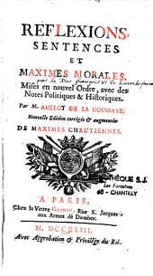 Réflexions, sentences et maximes morales [de La Rochefoucauld]