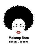 Makeup Face Chart Journal
