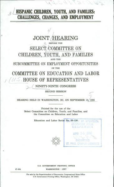 Hispanic Children  Youth  and Families PDF