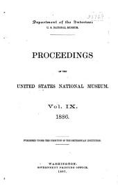 Proceedings of the United States National Museum: Volume 9