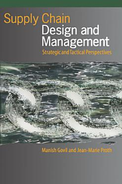 Supply Chain Design and Management PDF