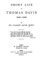 Short Life of Thomas Davis, 1840-1846