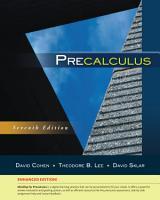 Precalculus  Enhanced Edition PDF