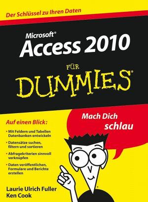 Access 2010 f  r Dummies PDF