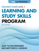 The Hm Learning and Study Skills Program  Level 1 PDF
