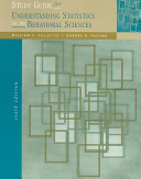 Study Guide for Understanding Statistics on the Behavioral Sciences Book