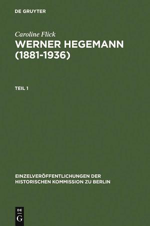 Werner Hegemann  1881 1936  PDF