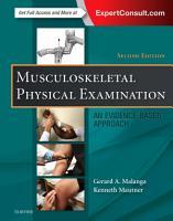 Musculoskeletal Physical Examination E Book PDF
