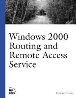 Windows 2000 Routing and Remote Access Service PDF