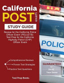 California Post Exam Study Guide