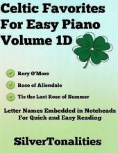 Celtic Favorites for Easy Piano Volume 1 D