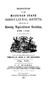 TRANSACTIONS OF THE MICHIGAN STATE AGRICULTURAL SOCIETY