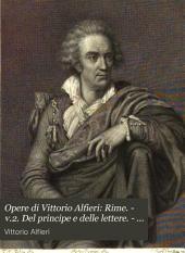Opere di Vittorio Alfieri: Rime