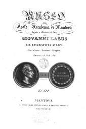 Museo della Reale accademia di Mantova: Volume 3